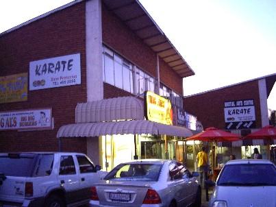 Kuva Pretoria Aikikain dojon ulkopuolelta